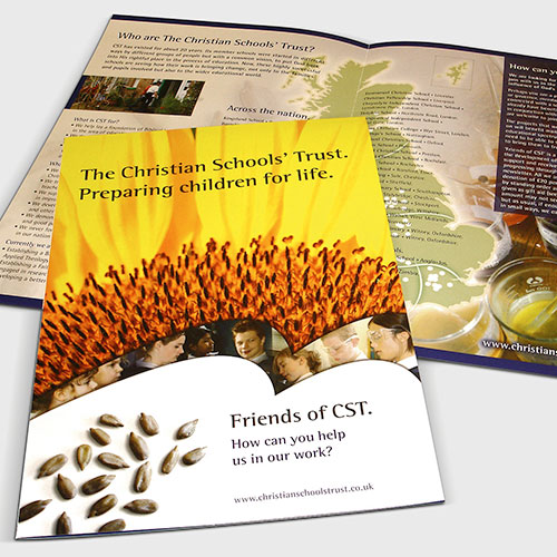 Information leaflet for Christian Schools' Trust.