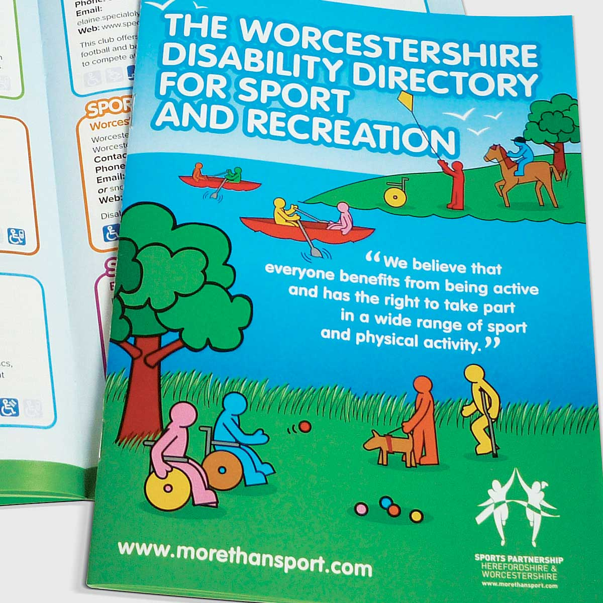 Disability Directory for Sports Partnership Herefordshire and Worcestershire